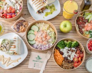 Salad Planet, un restaurante sostenible con el medioambiente
