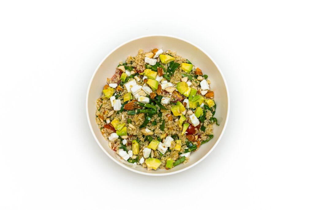 exotic salad menu