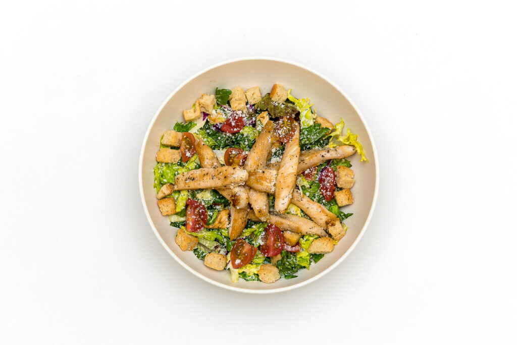 cesar salad menu