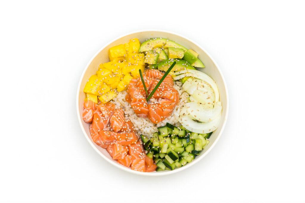 carte salade poke