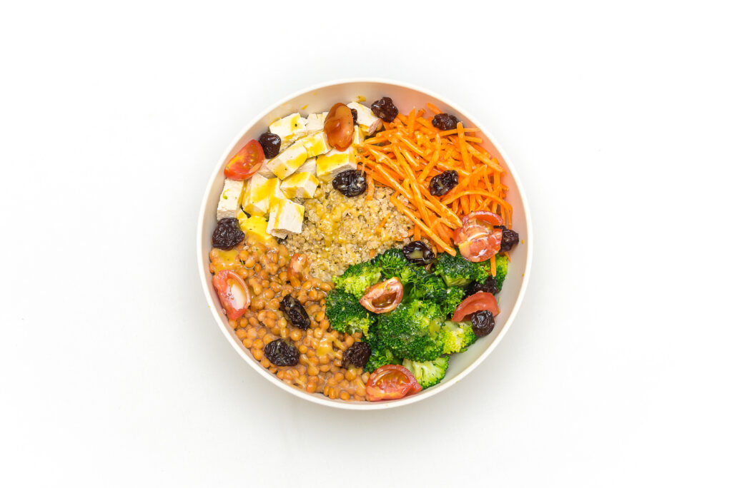 vegan salad menu