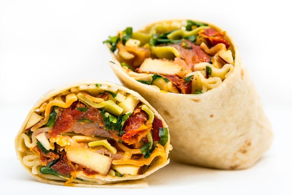 planet wrap menu