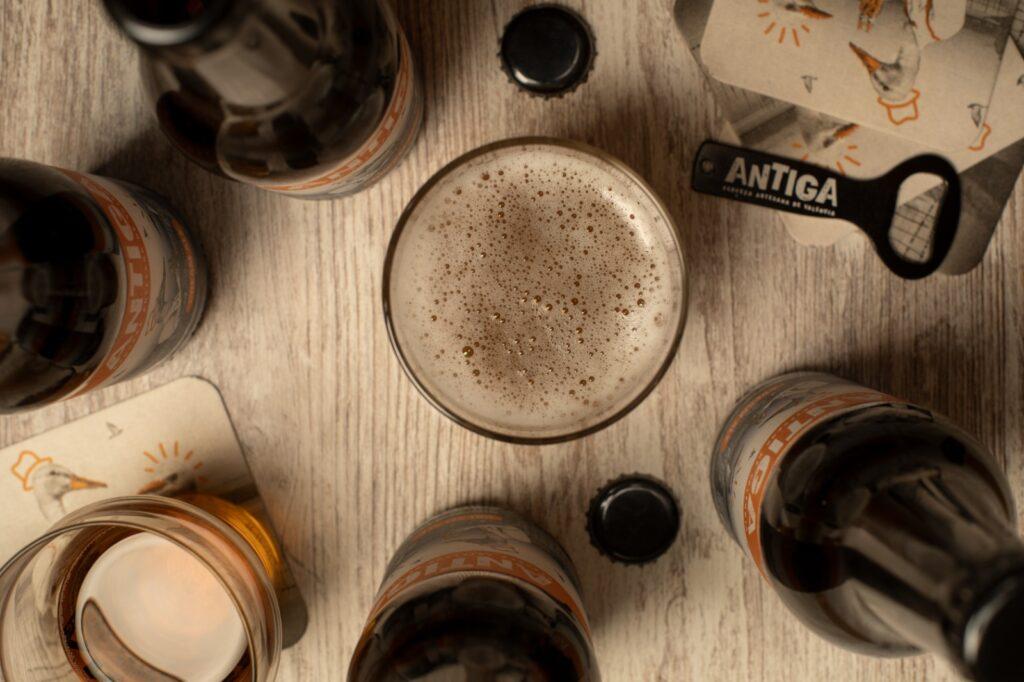 cerveza artesana antiga