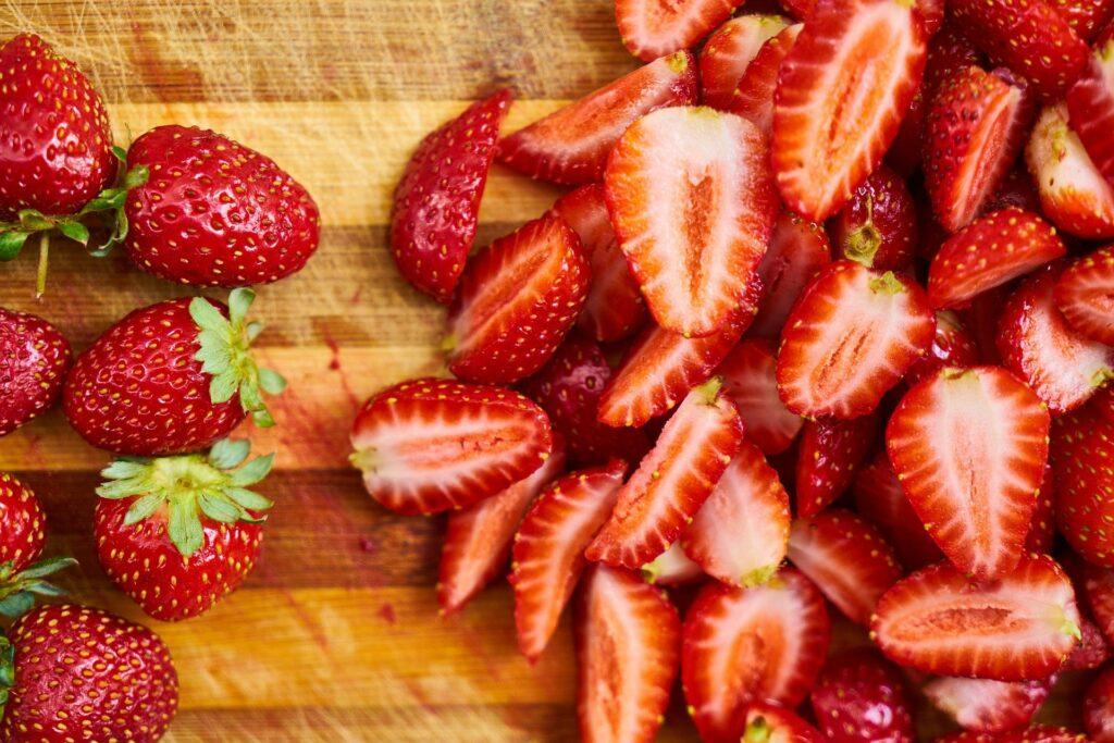 Las fresas son uno de los mejores alimentos de primavera y verano