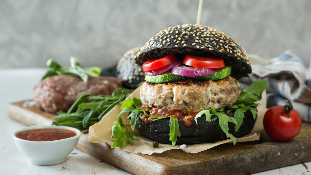 hamburguesa apta dentro del veganismo