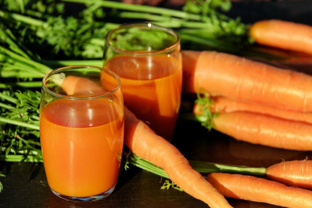 Las zanahorias son uno de los mejores alimentos para tomar como snack saludable