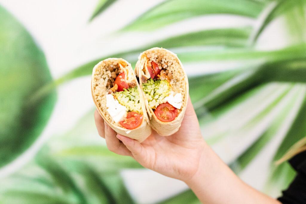Wrap Salad Planet con tofú
