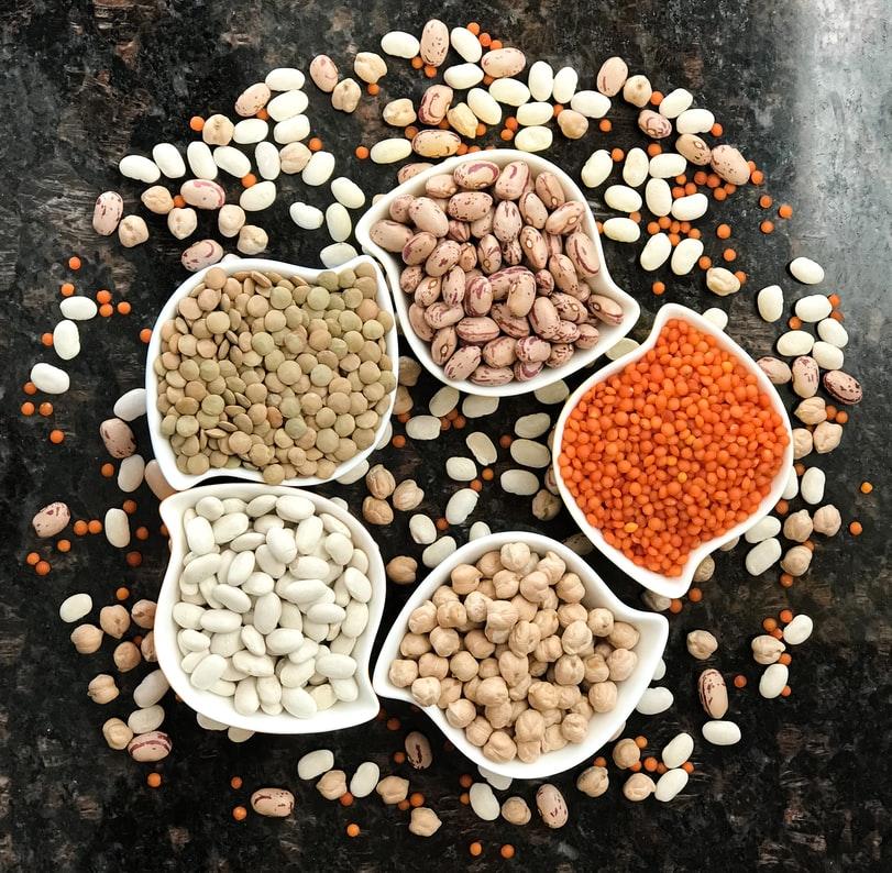 Variedades de legumbres